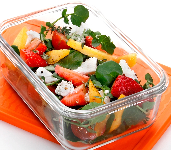 Ensalada de berros con frutas