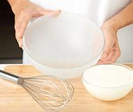 receta paso a paso corona rellena de nata