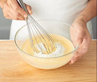 receta paso a paso plum-cake de fresones