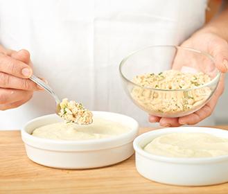 receta paso a paso brandada de merluza gratinada