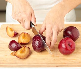 receta paso a paso tarta facil de ciruelas