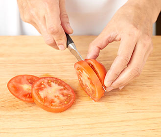 receta paso a paso hamburguesa de ternera con tomate y queso feta
