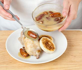receta paso a paso codornices a la miel