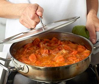 receta paso a paso sopa cremosa de tomate