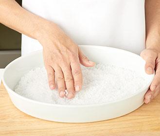 receta paso a paso lomo de cerdo a la sal con mermelada de tomate