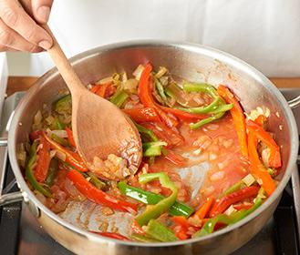receta paso a paso arroz caldoso de pescado