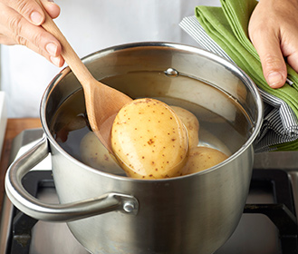 receta paso a paso tortitas de coliflor y patata