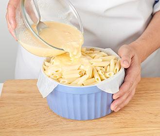 receta paso a paso pastel de macarrones al horno