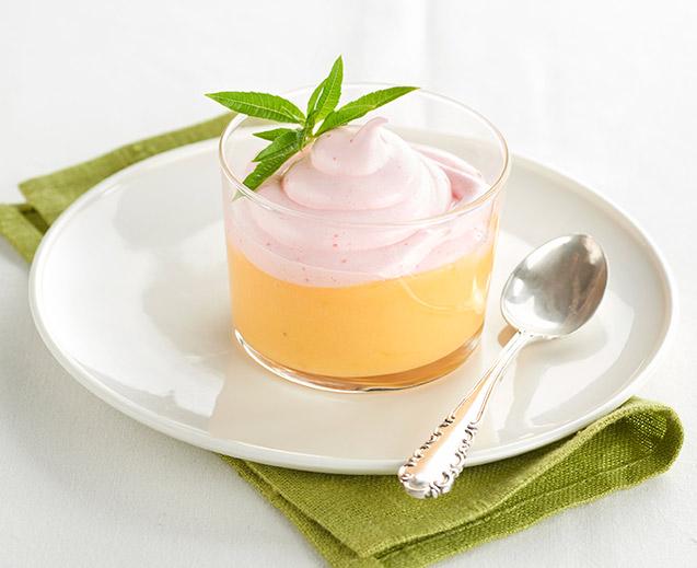 Copa de limón y merengue