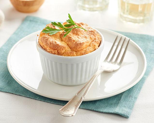 Suflé de patata y queso