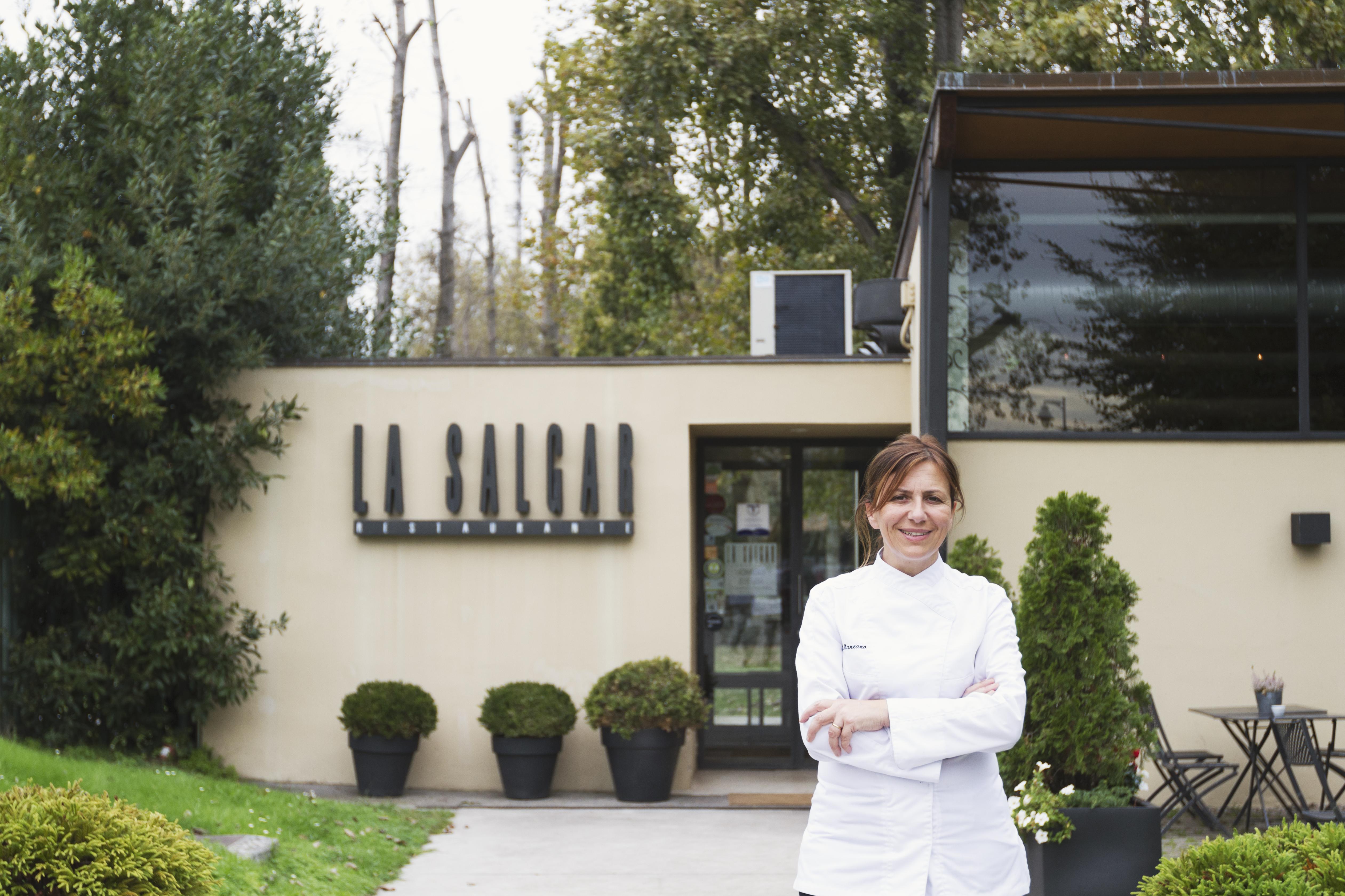 Esther Manzano , La Salgar , estrella Michelin