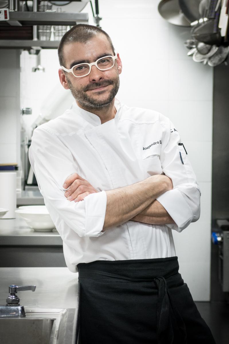 Alejandro Sánchez , estrella Michelin