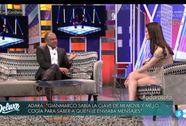 Adara Molinero y Jorge Javier Vázquez
