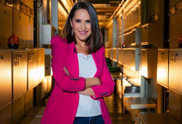 Virginia Díaz, presentadora de Cachitos de Hierro y Cromo