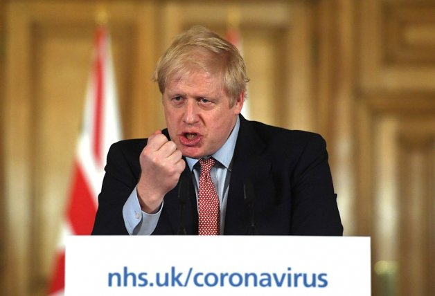 Boris Johnson comparecencia coronavirus