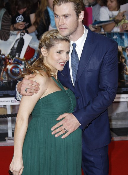 Elsa Pataky embarazada Chris Hemsworth