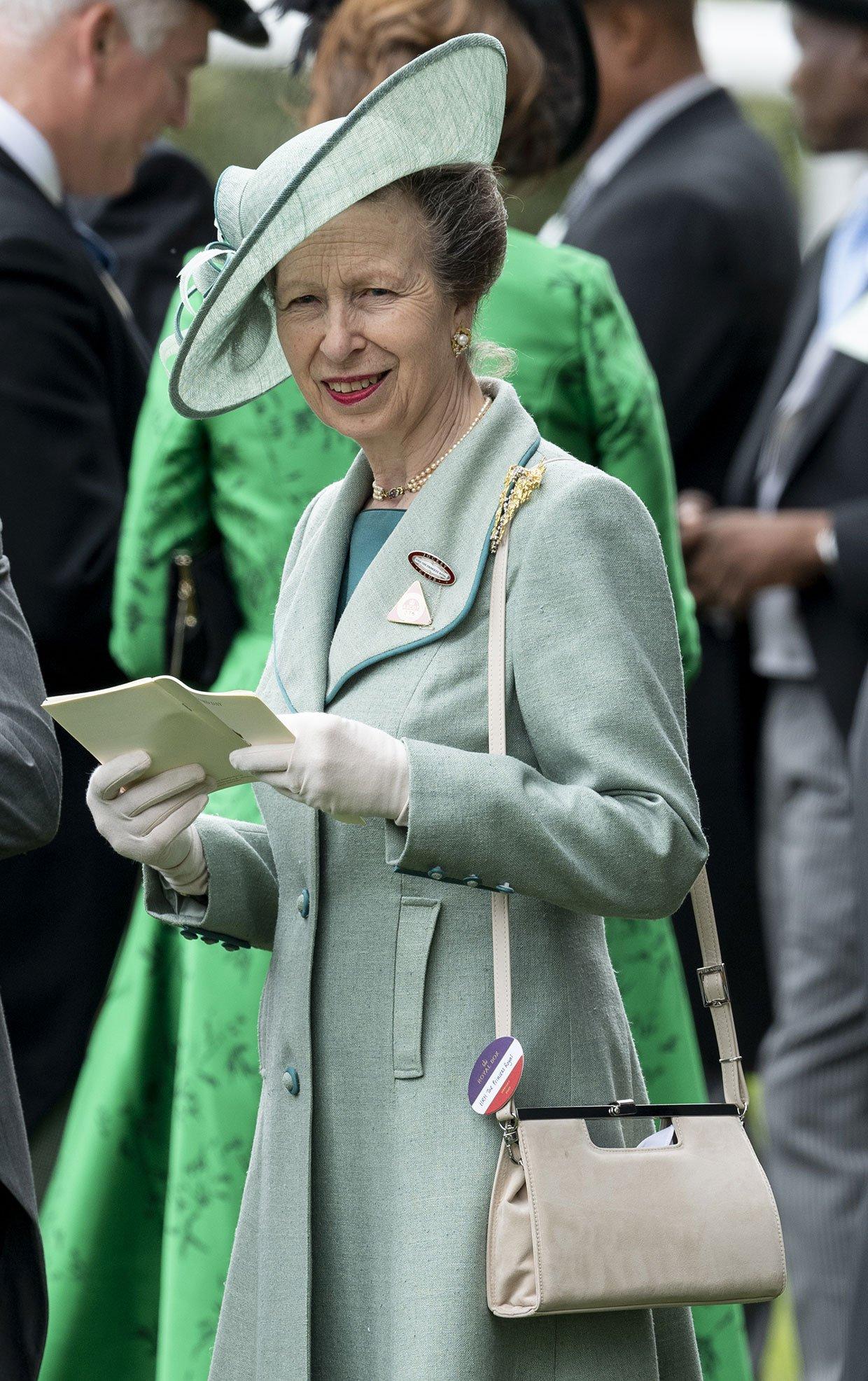 Ana De Inglaterra Cumple 70 Anos